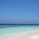 Maldives Perfect Beach by John Dalkin