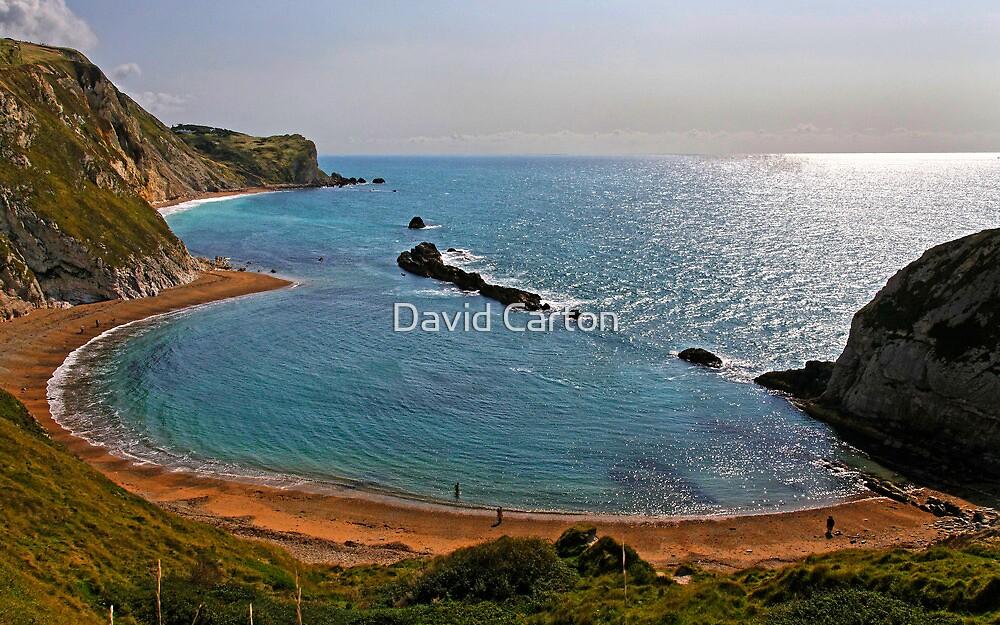 Saint Oswald's Bay, Dorset, UK by David Carton