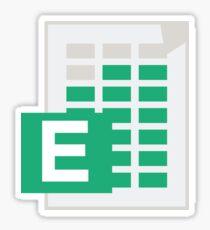 Excel Icon Sticker Sticker