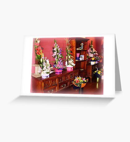 Florist Shop -  Love it in here. Greeting Card