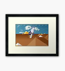 Whale Song part 4 Framed Print
