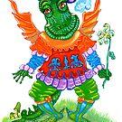 FRIENDLY DRAGON by Judy Mastrangelo
