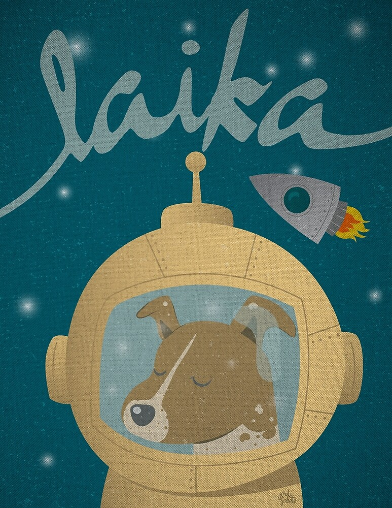 Tribute to Laika by Jordi  Sabaté