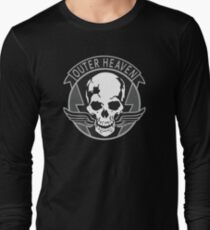 Metal Gear Solid - Outer Heaven (Gray) Long Sleeve T-Shirt