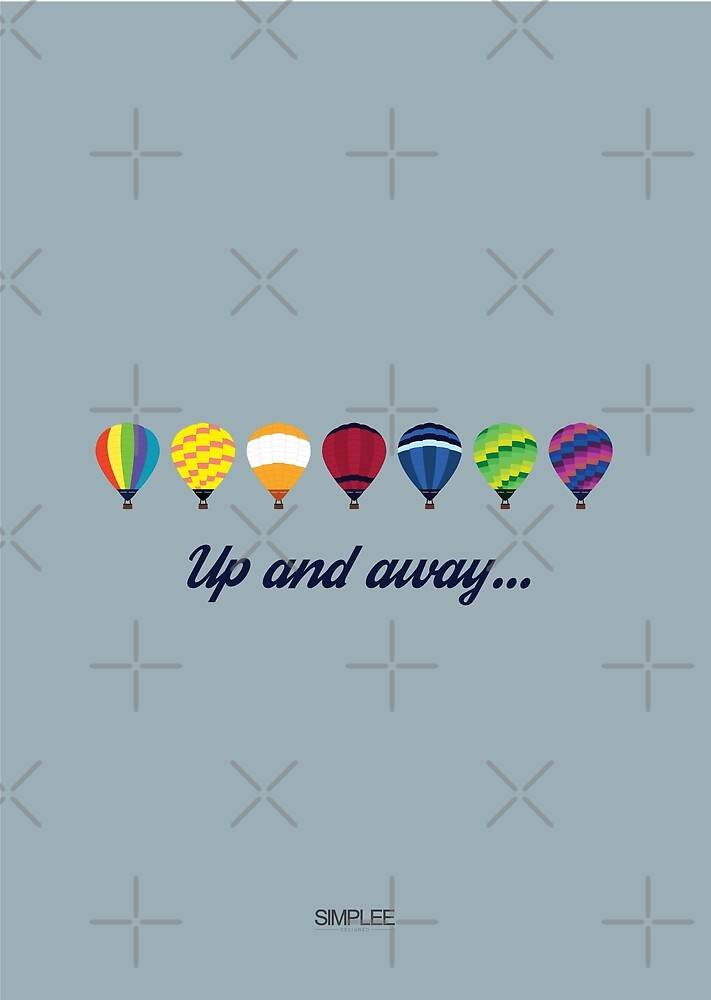 Simplee Cards: Up and Away by SimpleeShop
