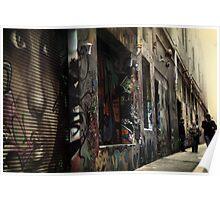 Melbourne's Laneways & Alleys 11 Poster