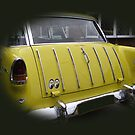 Yellow Trunk Chevy by Dawnsuzanne