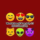 World Emoji Day July 17 #WorldEmojiDay Joypixels Emoji by sandyspider