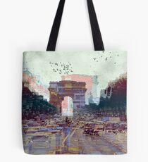 Parisian Mosaic - Piece 25 - Les Champs-Élysées Tote Bag
