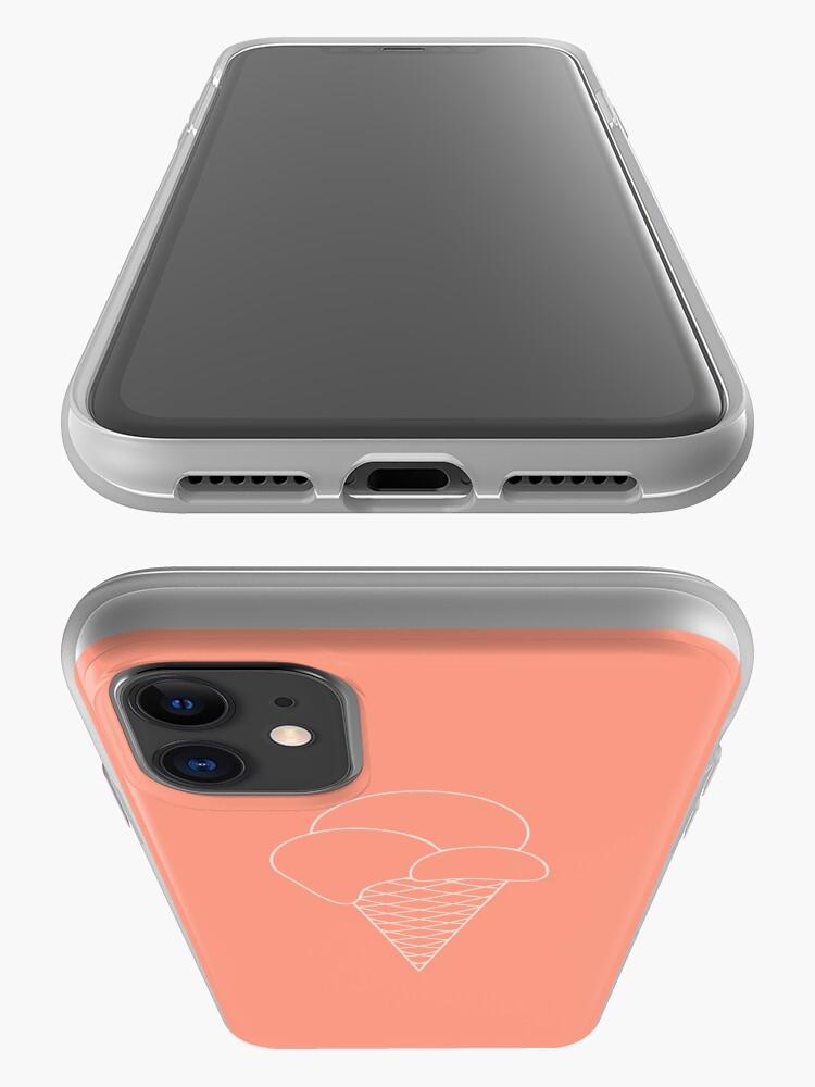 Alternate view of Ice Cream Cone iPhone Case & Cover