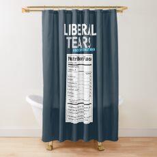 SONDERANGEBOT Liberale / Demokratische Tränen aus dem Salzminen-Logo mit salzigen Tränen ergänzen die Fakten - Online-Shop Duschvorhang