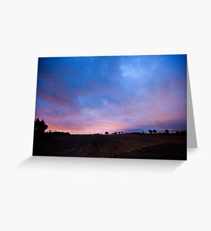 Peamount Early Morning Greeting Card