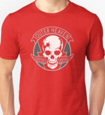 Metal Gear Solid - Outer Heaven (transparent) T-Shirt