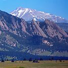 Flatirons Pointing to Longs Peak by Bo Insogna