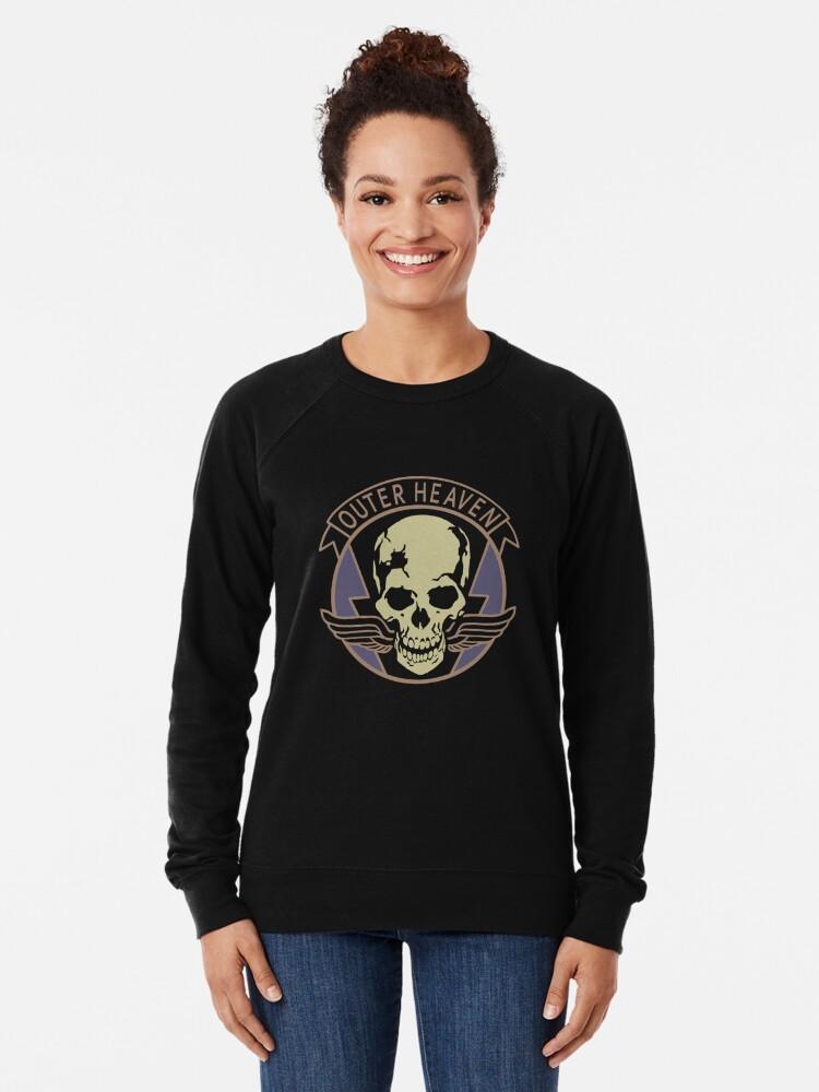 Metal Gear Solid - Outer Heaven (Alternate coloring, transparent)    Lightweight Sweatshirt