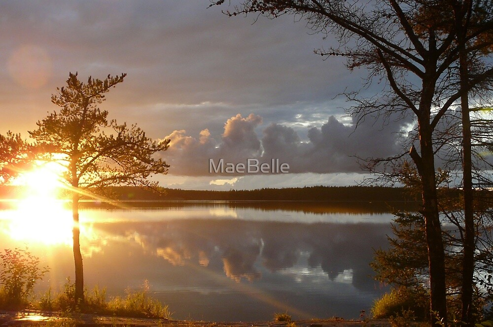 Sunshine and Storm Clouds by MaeBelle