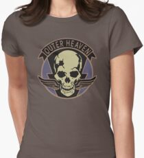 Metal Gear Solid - Outer Heaven (Alternate coloring) Women's Fitted T-Shirt