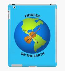 Fiddler on the Earth Play on Words Joypixels Emoji iPad Case/Skin