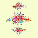 FLOWER BOUQUET by Judy Mastrangelo