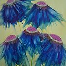 Dancing Daisies by Michelle Erickson