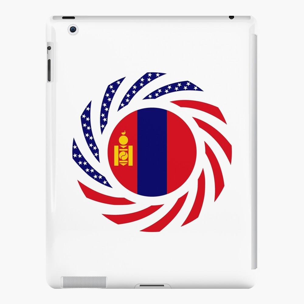Mongolian American Multinational Patriot Flag Series iPad Case & Skin