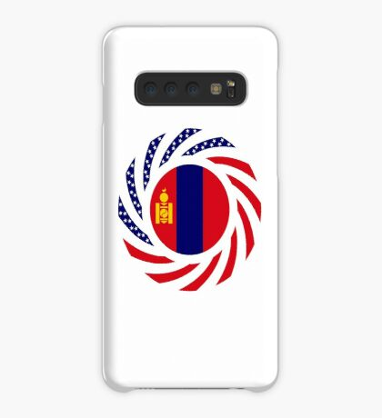 Mongolian American Multinational Patriot Flag Series Case/Skin for Samsung Galaxy