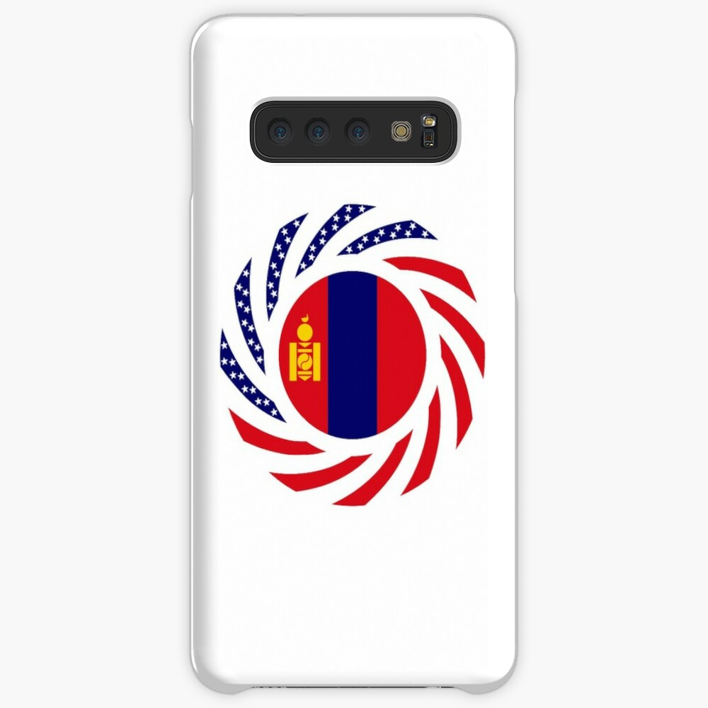 Mongolian American Multinational Patriot Flag Series Case & Skin for Samsung Galaxy