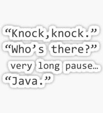 Programmer joke Sticker