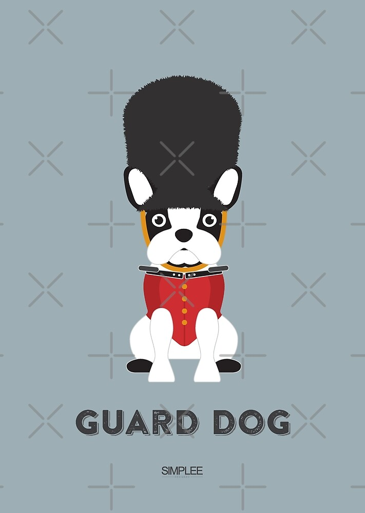 Simplee Cards: Guard Dog by SimpleeShop