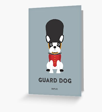 Simplee Cards: Guard Dog Greeting Card