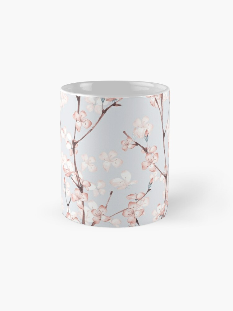 Alternate view of Blossom. Watercolor seamless floral pattern Mug