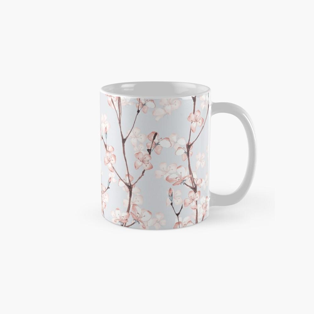 Blossom. Watercolor seamless floral pattern Mug
