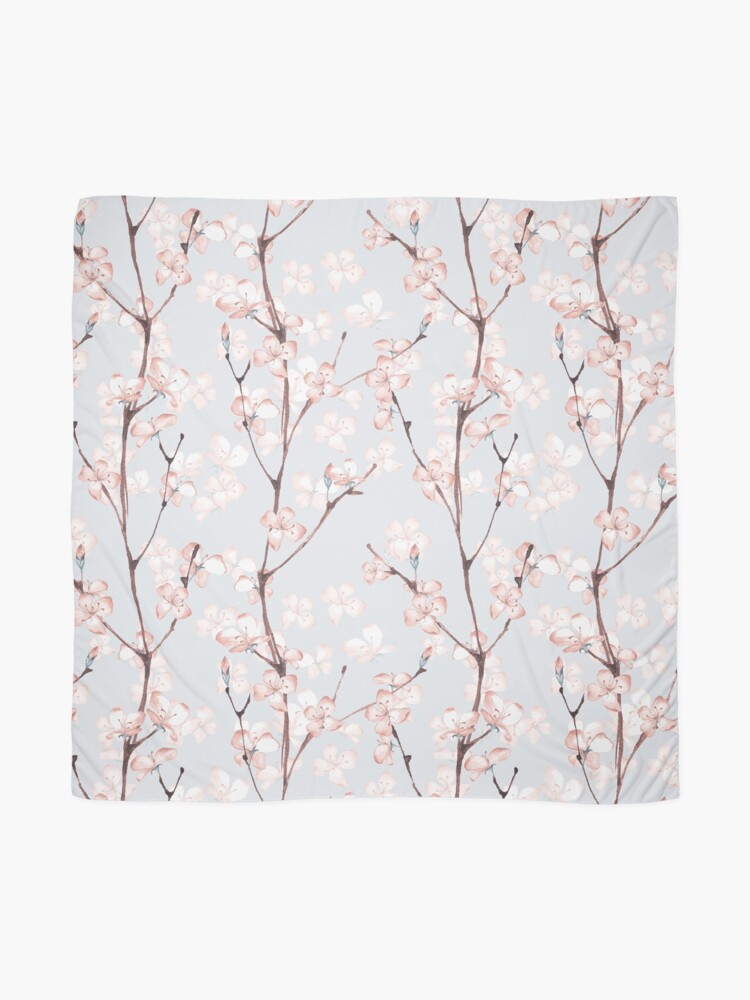 Alternate view of Blossom. Watercolor seamless floral pattern Scarf