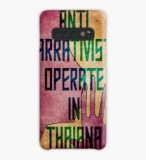 Anti-Narrativists Operate in Thaiana Case/Skin for Samsung Galaxy