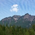 Strange Cloud Formations over the Mountain by AnnDixon