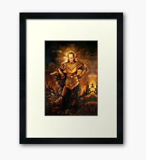 Vigo the Carpathian Framed Print