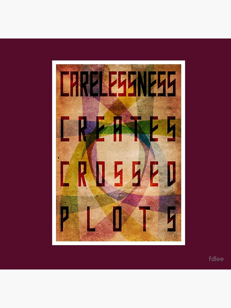 Careless Creates Crossed Plots by fdlee