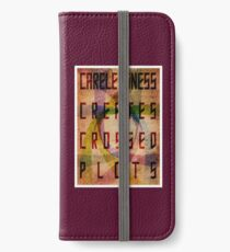 Careless Creates Crossed Plots iPhone Wallet/Case/Skin