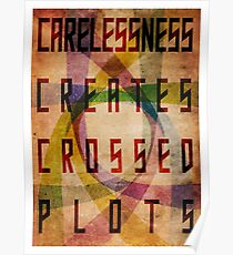 Careless Creates Crossed Plots Poster
