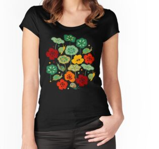 Fitted Scoop T-Shirt