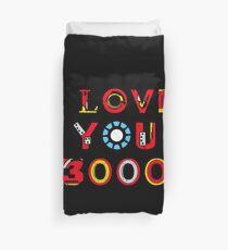 I Love You 3000 v2 Duvet Cover