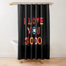 Ich liebe dich 3000 v2 Duschvorhang