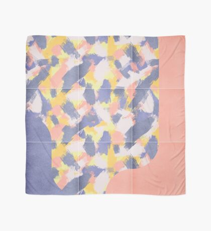 Messy Painted Tiles 03 #redbubble #midmod Scarf