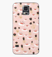 Chocolate flowers Case/Skin for Samsung Galaxy