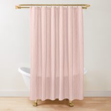 Askew lines Shower Curtain
