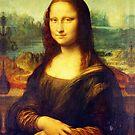 Mona Lisa by Leonardo da Vinci by boxsmash