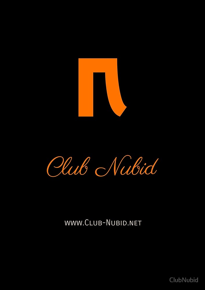 Club Nubid FM orange von ClubNubid
