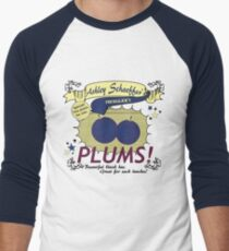 Ashley Schaeffer's Plums Men's Baseball ¾ T-Shirt