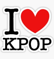 I LOVE KPOP Sticker
