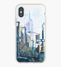 New York - Empire State iPhone-Hülle & Cover